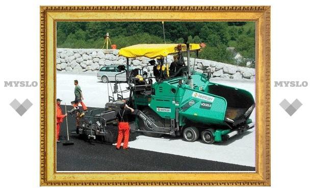 Тульские дороги будет ремонтировать новая техника