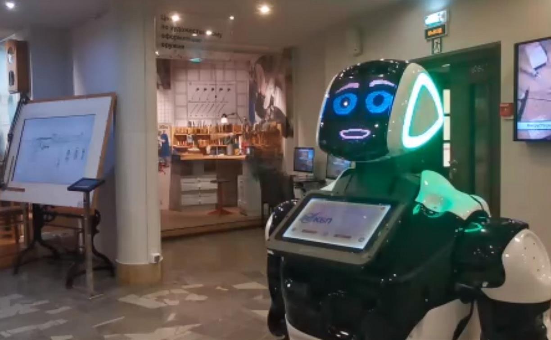 Робот Акинфий проведёт онлайн-экскурсию по тульскому Музею оружия