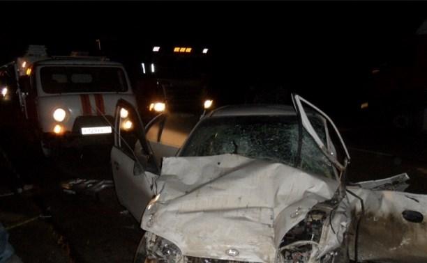 В аварии на трассе М-2 «Крым» пострадали трое