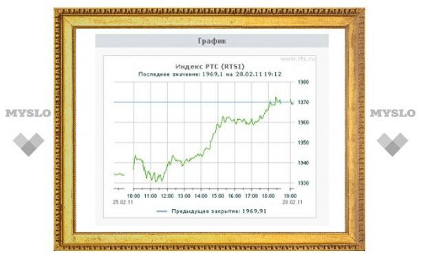 Российские фондовые индексы обновили максимумы 2011 года