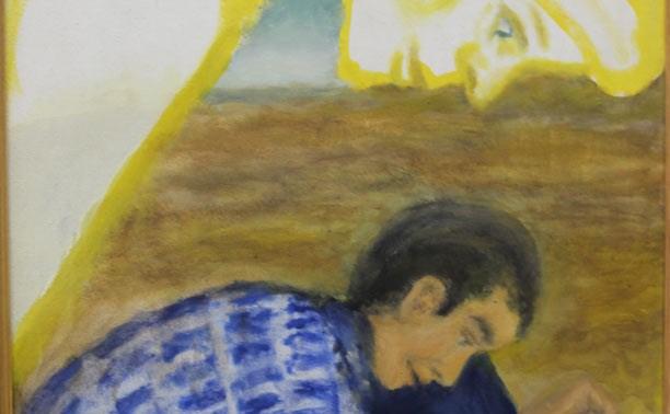 Тульский художник пишет картины левой ногой: открылась выставка Владимира Тарунтаева