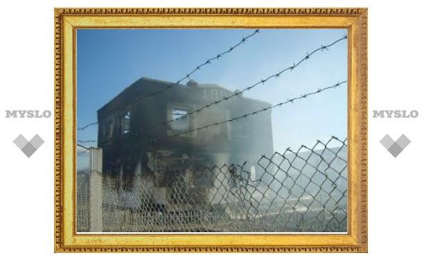 Заключенные из сгоревшей колонии доставлены в Читу