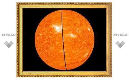 Солнце впервые увидели в 3D