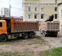 В историческом центре Тулы продолжается снос аварийных домов