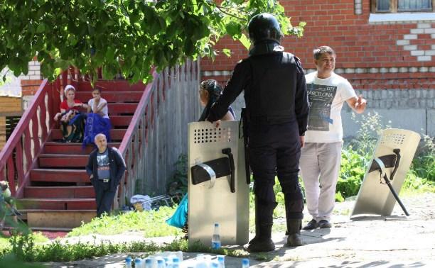 В таборе на Косой Горе ликвидируют незаконные врезки в газопровод