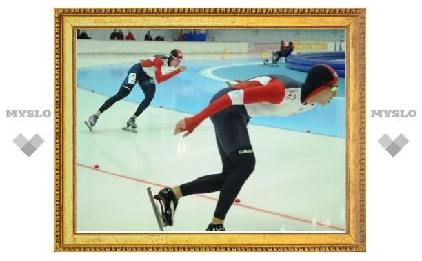 Тульский конькобежец выиграл серебро в Коломне