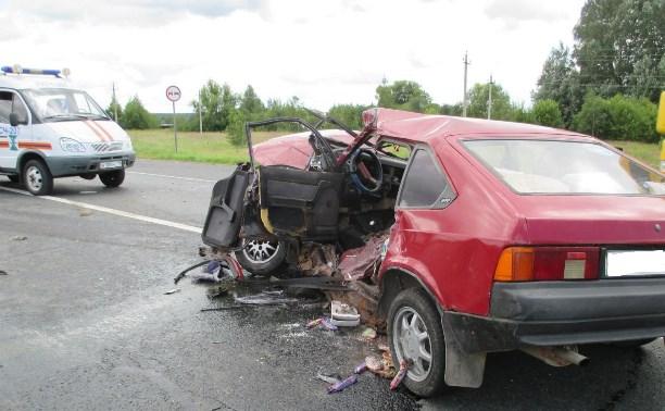В ДТП на трассе М6 погиб водитель «Москвича»