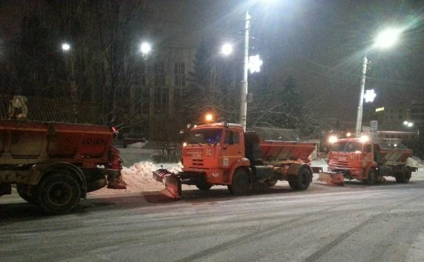 На выходных вывезут снег с трёх улиц Центрального района