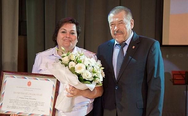 Сотрудников ГИБДД Тульской области поздравил Юрий Андрианов