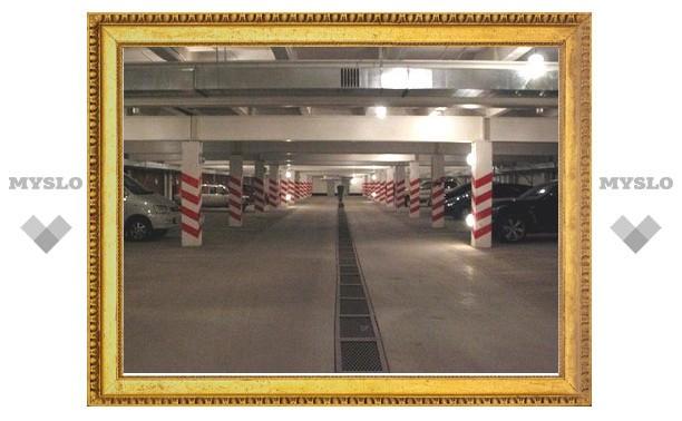 В Туле незаконно построили подземную парковку на 90 машин