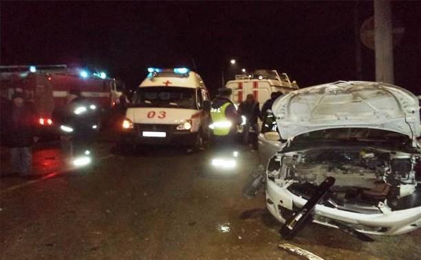В тройном ДТП на дороге «Щёкино-Советск» пострадали три человека