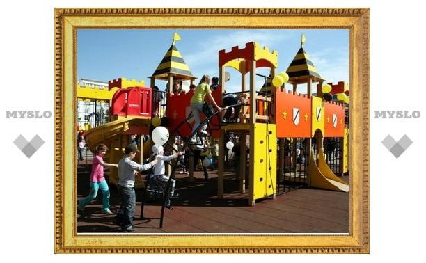 Во дворах Тулы к 18 ноября появятся новые детские площадки?