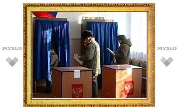 Тула в лидерах по явке избирателей