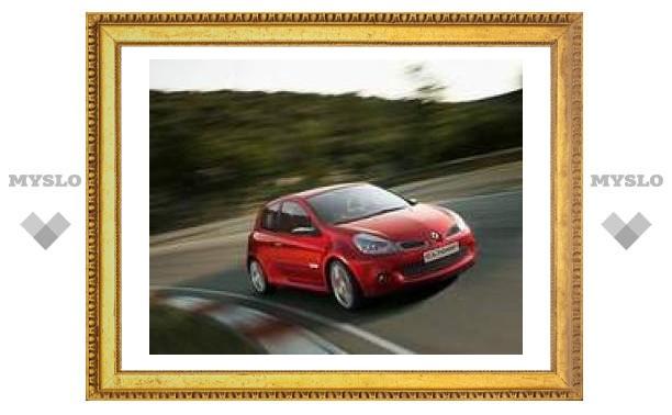 В марте 2008 года в России появится новый Renault Clio RS