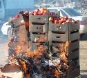 За два месяца в Тульской области уничтожено 60 тонн санкционной продукции