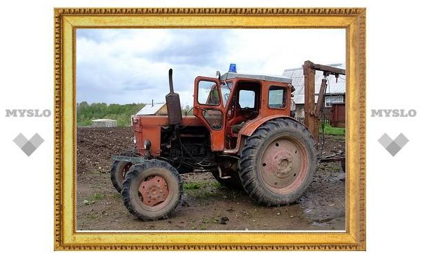 В Туле трактор сбил пешехода