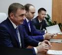 Алексей Дюмин встретился с руководством компании «Балтика»