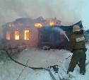 В горящем доме в Венёвском районе погибла пенсионерка