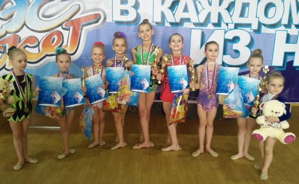 Тульские гимнастки отлично выступили в Санкт-Петербурге