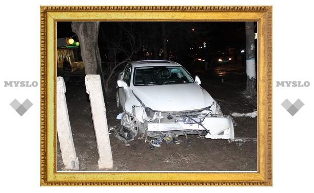 За рулем «Лексуса» в ДТП на ул. Фрунзе был внук тульского бизнесмена