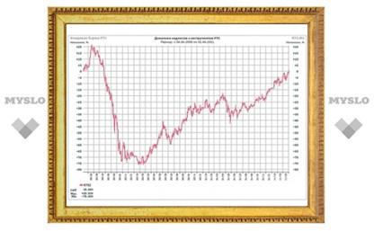 Индекс РТС вырос до 2100 пунктов