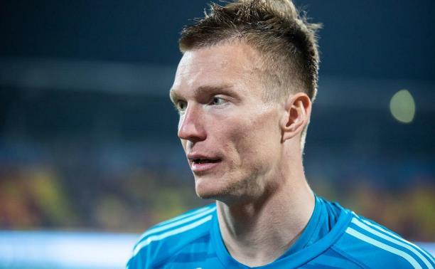Вратарь Артур Нигматуллин покинул тульский «Арсенал»
