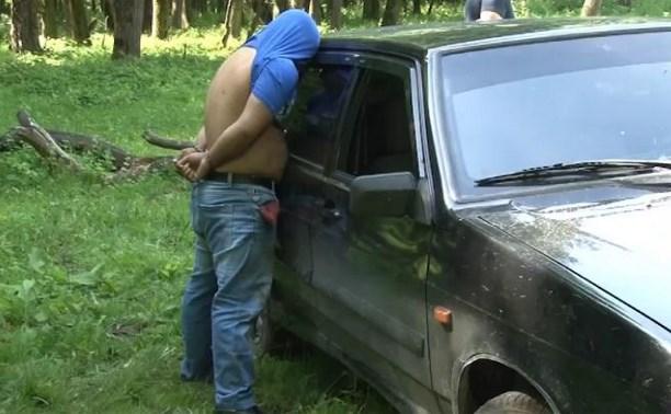 Во время газовых работ в косогорском таборе полиция задержала наркодилера