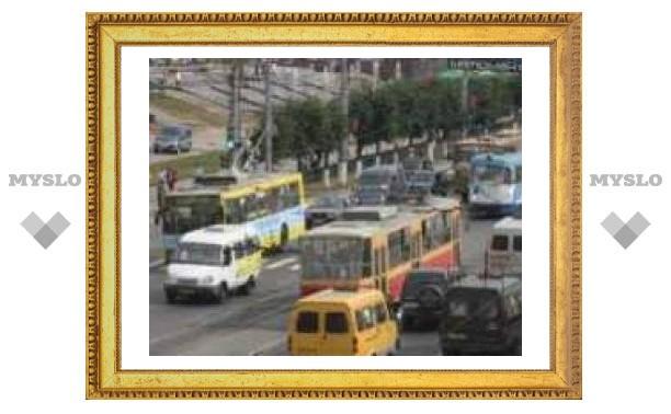 Транспорт в Туле идет по-другому