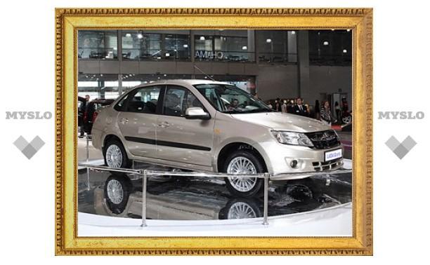 """Бюджетные """"Лады"""" начнут собирать на """"ИжАвто"""" в 2012 году"""
