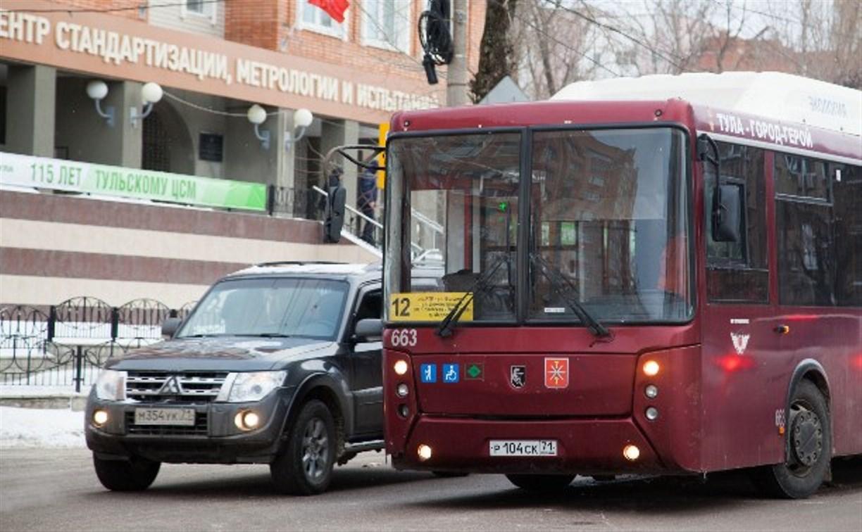 24 января в Туле несколько автобусов изменят движение