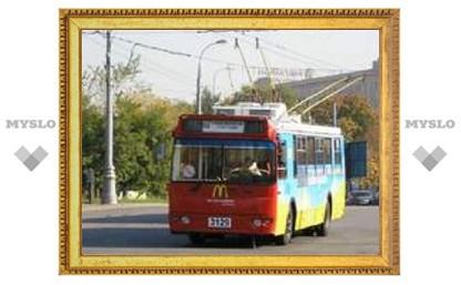 Троллейбусы временно изменили маршрут
