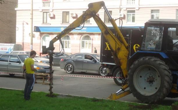 На самых аварийных перекрестках Тулы установят пешеходные ограждения