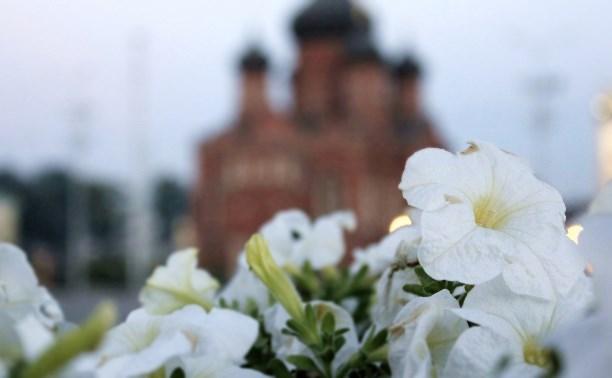 90 тысяч цветов высадят в Туле ко Дню Победы