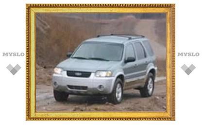 Внедорожник Ford Escape будет продаваться в России по цене от 845 500 рублей