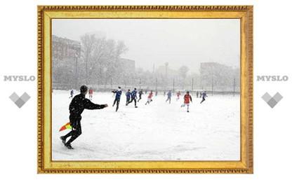 Федерация футбола приглашает на игры Тульского областного турнира «Снеговик»