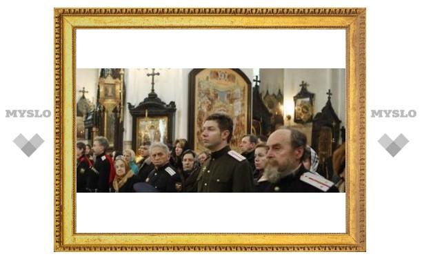 Новомосковские казаки построят храм на Дону