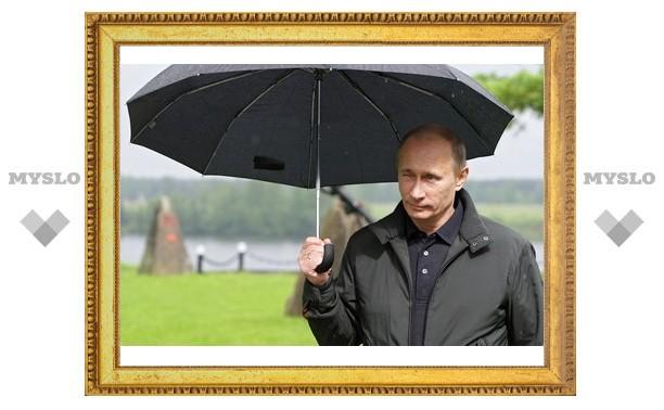 Путин оказался вторым по популярности политическим блогером Рунета