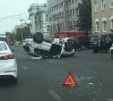 В центре Тулы столкнулись Volkswagen и Honda