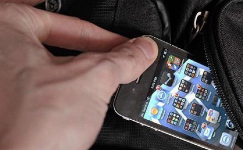 Щекинец украл смартфон у собутыльницы