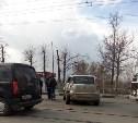 На Пролетарском мосту в ДТП попал пассажирский автобус