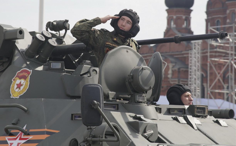 В Туле прошла генеральная репетиция парада Победы