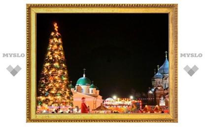 Сегодня, 8 января, в Туле закроют главную елку