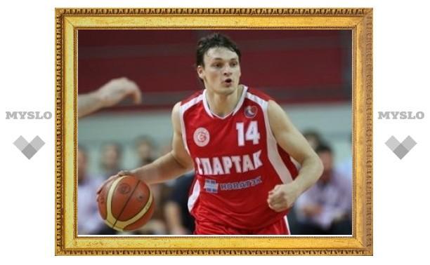 Сборная России по баскетболу потеряла игрока перед ЧМ-2010