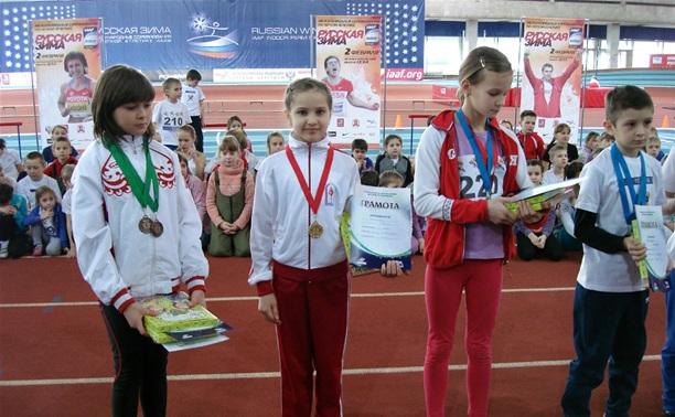 Юные тульские легкоатлеты проявили себя на «Русской зиме»