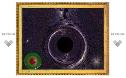 Ученые показали мир изнутри черной дыры