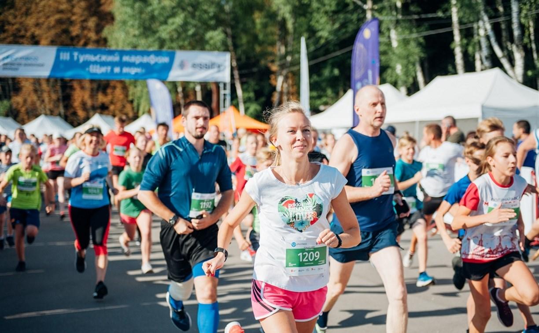 В Центральном парке прошёл Тульский марафон «Щит и меч»: фоторепортаж