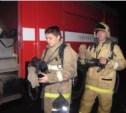 В Заречье спасатели вывели мужчину из горящего дома