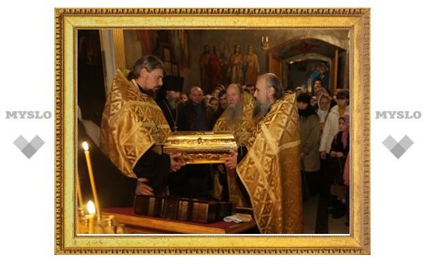 В Тульскую область прибудет ковчег с десницей Николая Чудотворца