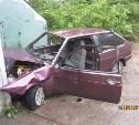 В Ефремове 28-летний водитель ВАЗа врезался в стену гаража
