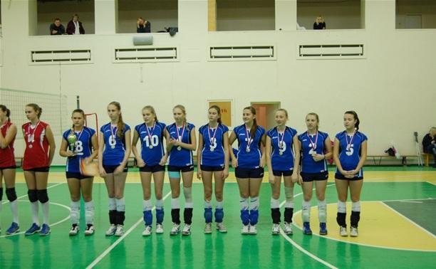 Юные тульские волейболистки выиграли зону России